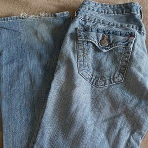True Religion blue jeans Size 29